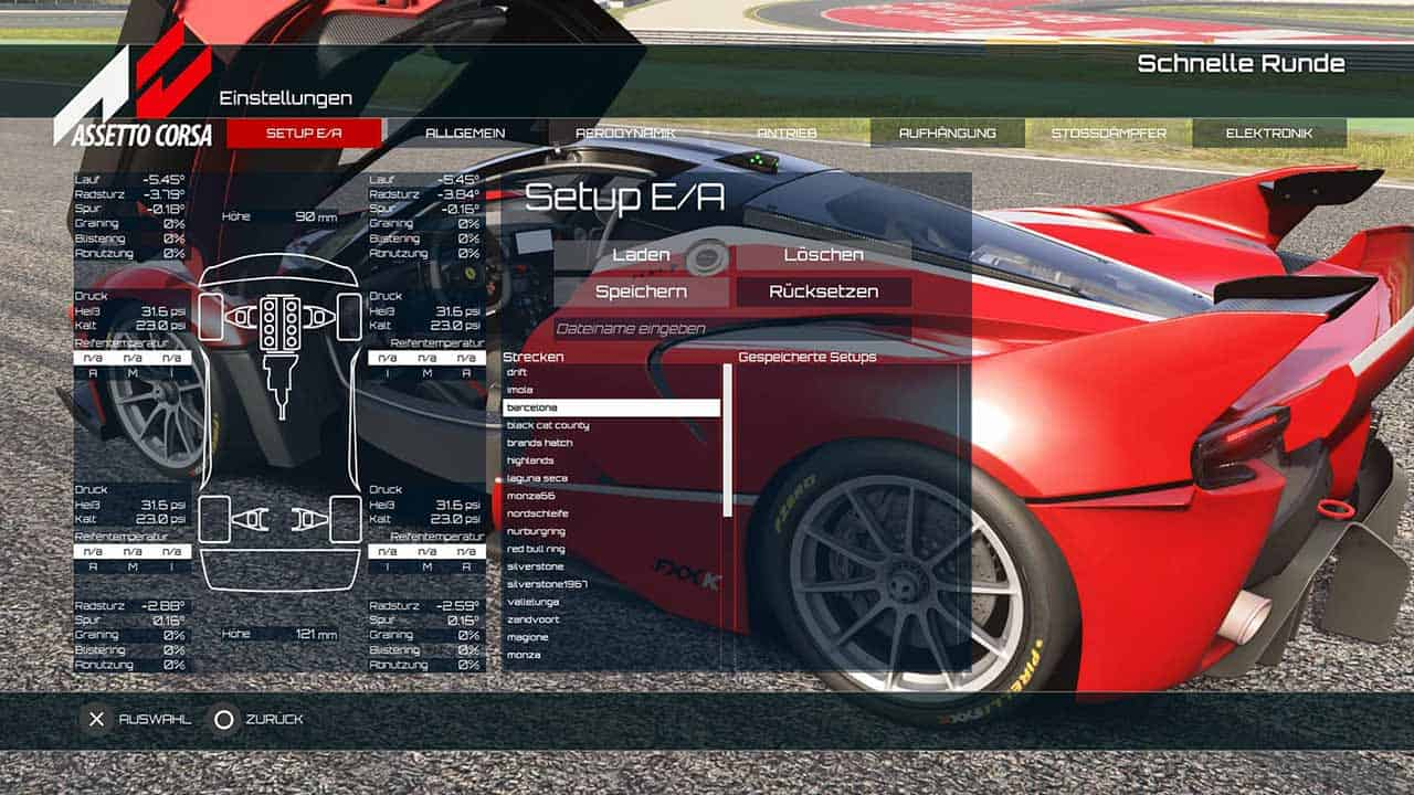 Assetto Corsa Setups