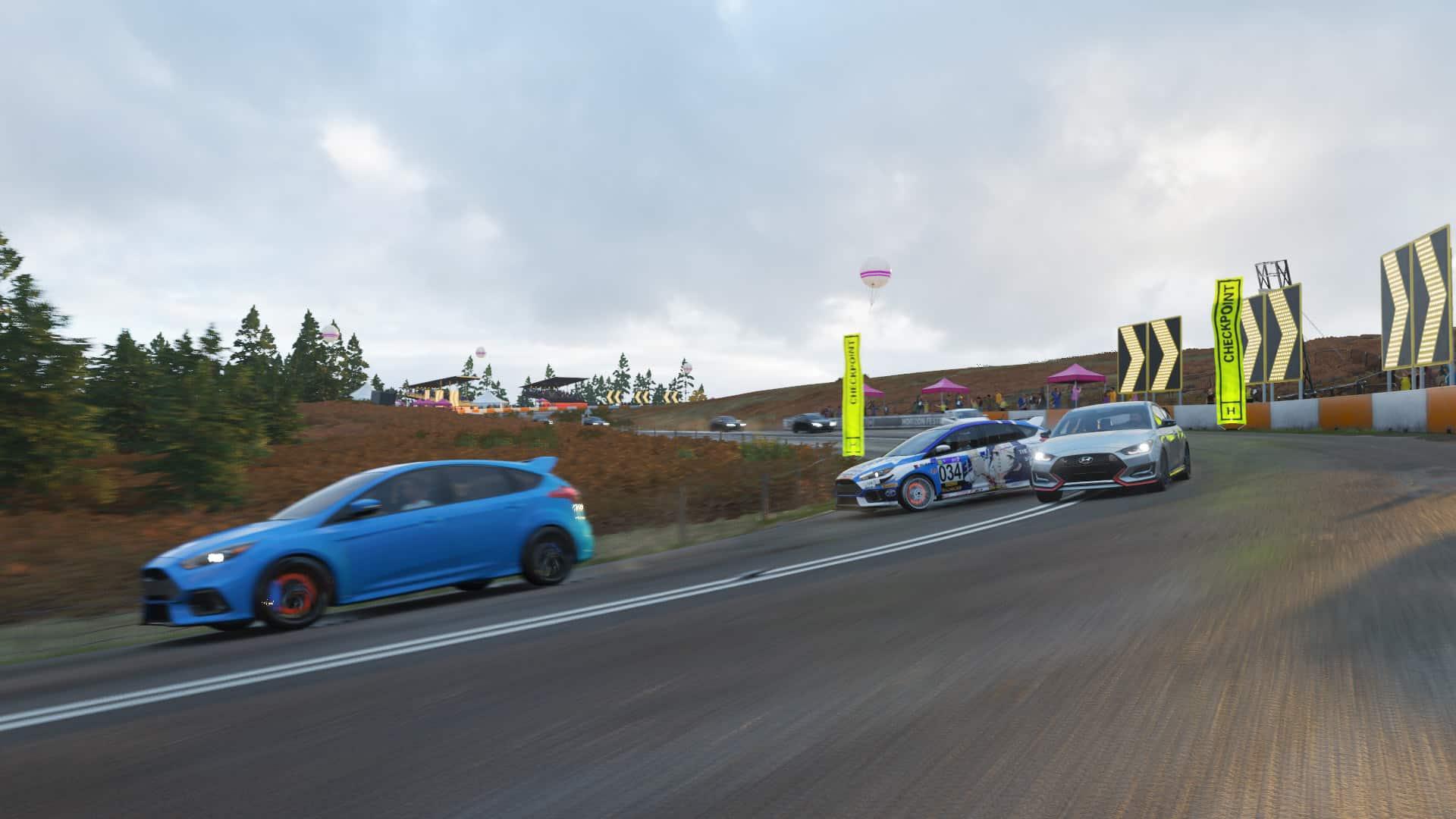 Forza Horizon 4 Test des Fahrgefühls